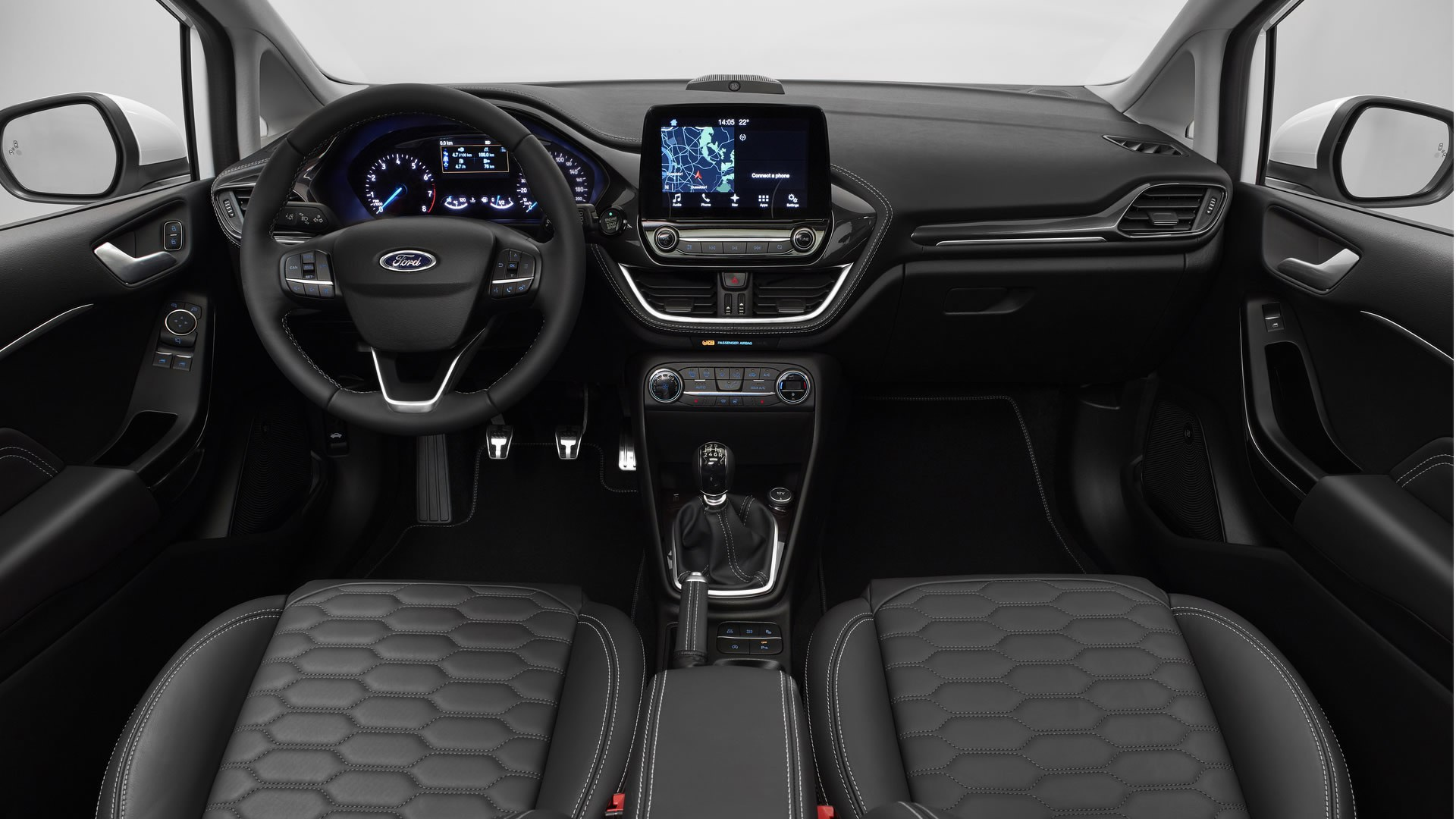 Novo Ford Fiesta 2018 - Interior