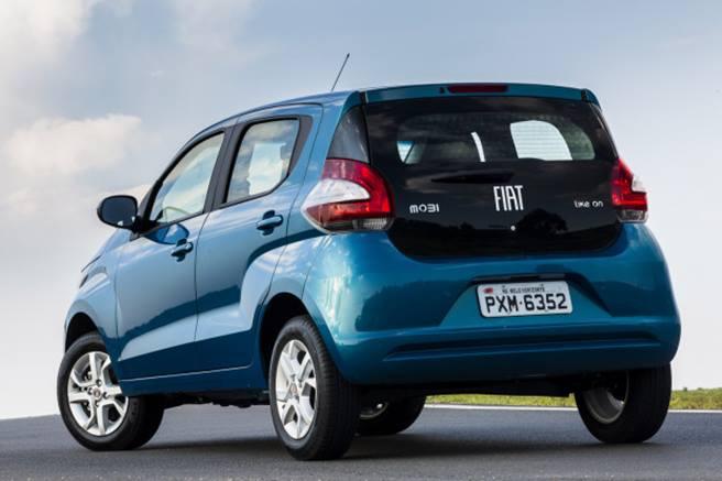Novo Fiat Mobi 2018 - Itens de série