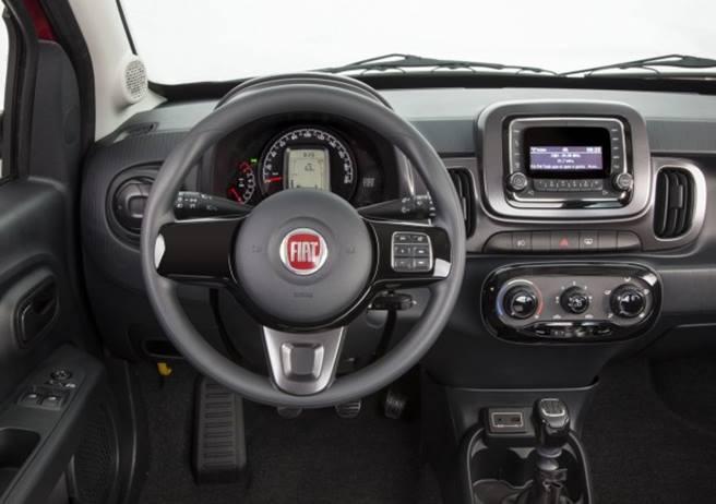 Novo Fiat Mobi 2018 - por dentro