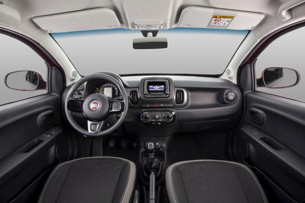 Novo Fiat Mobi 2018 - Interior