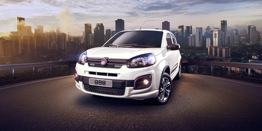 Novo Fiat Uno ou Up 2018 - Qual é o melhor para comprar?
