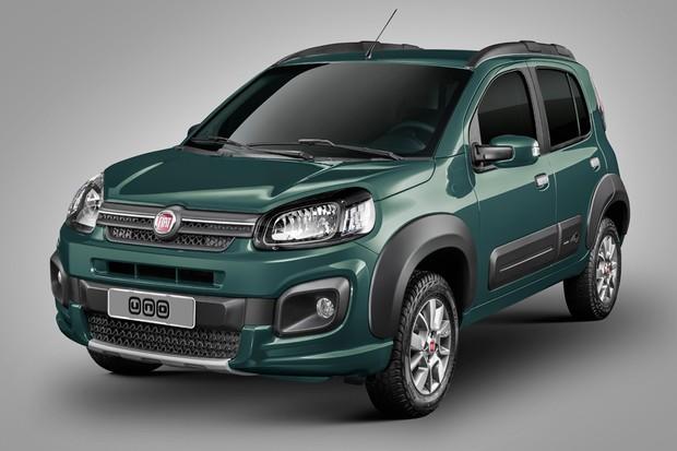 Novo Fiat Uno 2018 - Ficha Técnica