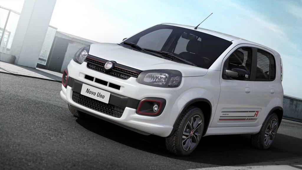 Novo Fiat Uno ou Up 2018 - Avaliação