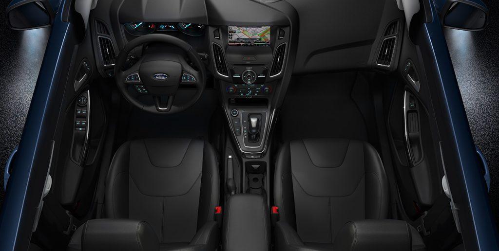 Novo Focus 2018 - espaço interno e itens de série