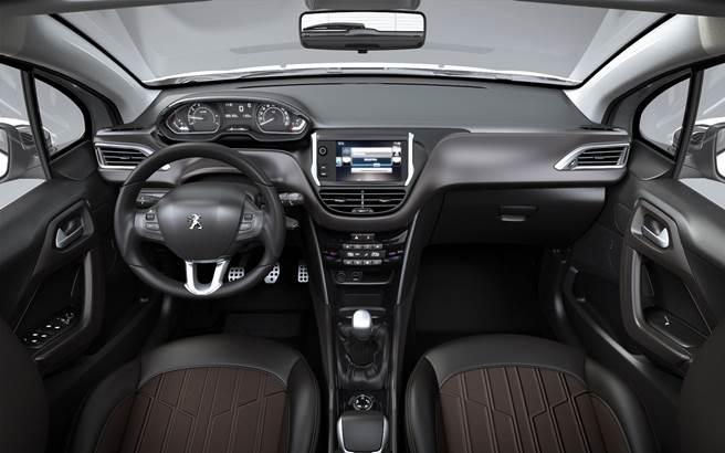 Novo Peugeot 2008 2018 - por dentro