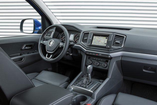 Volkswagen Amarok 2018 - Interior, por dentro
