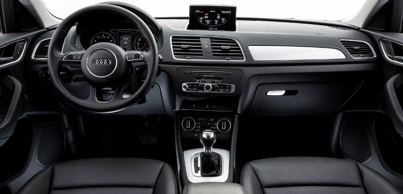 Novo Audi Q3 2018 - por dentro, novidades