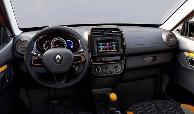 Novo Renault Kwid 2018 - Interior