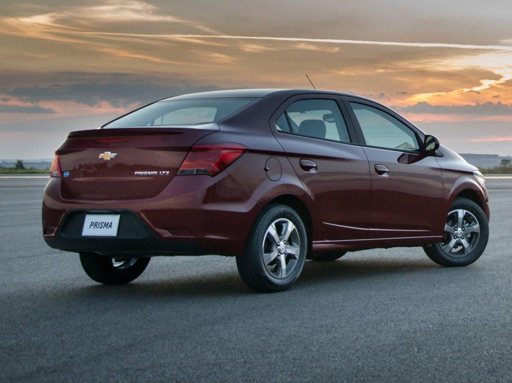 Chevrolet Prisma 2019 - traseira, porta malas