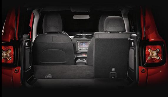 Jeep Renegade 2019 - porta malas, litros, espaço