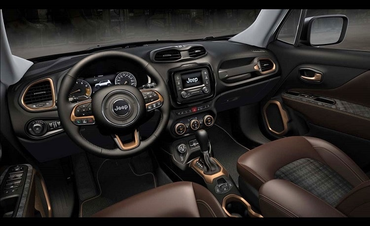 Jeep Renegade 2019 - Painel, interior, por dentro