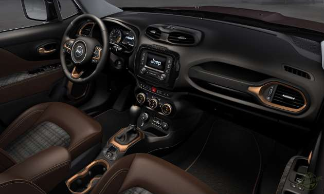Jeep Renegade 2019 - Volante, bancos de couro, console