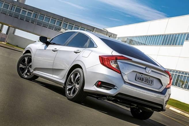 Novo Honda Civic 2019 - traseira, porta malas
