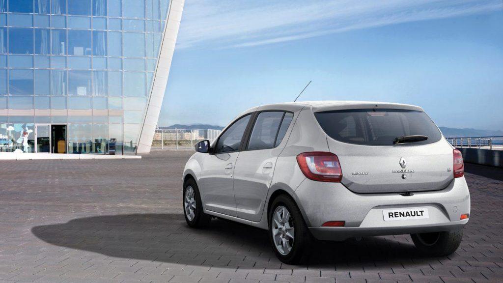 Novo Renault Sandero 2019 - traseira