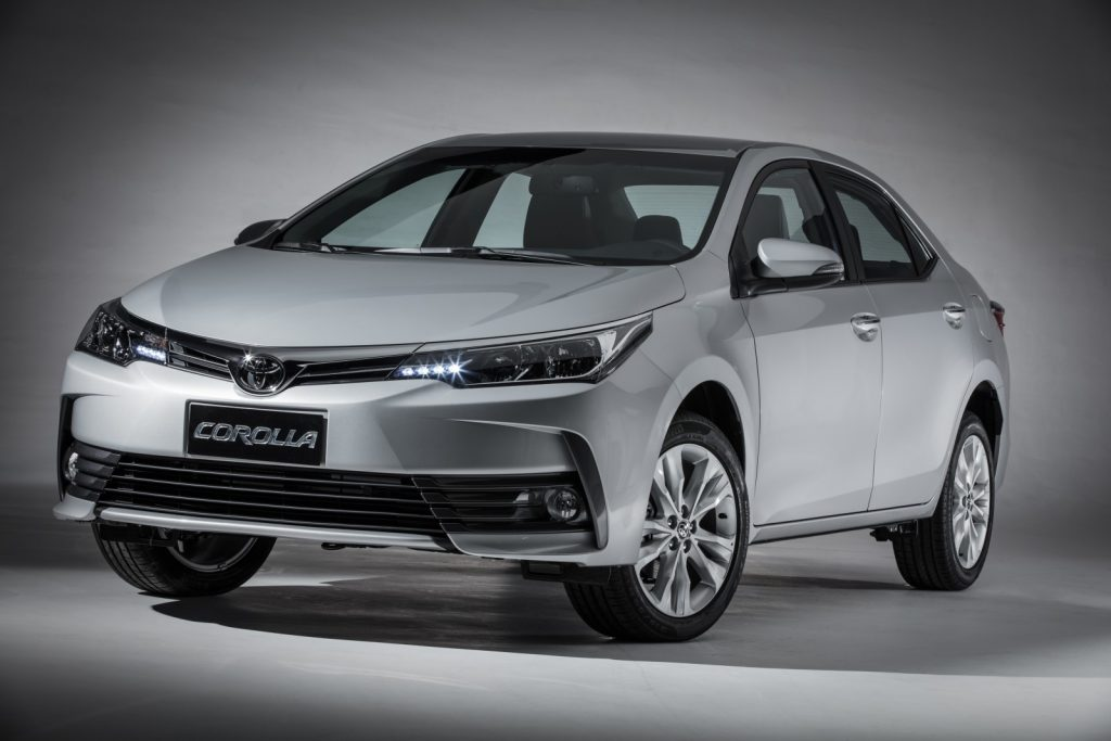 Novo Corolla 2019 - frente, ficha técnica