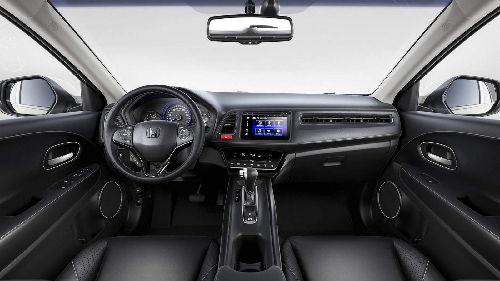 Novo Honda Hrv 2019 Pre 231 O Consumo Ficha T 233 Cnica Fotos