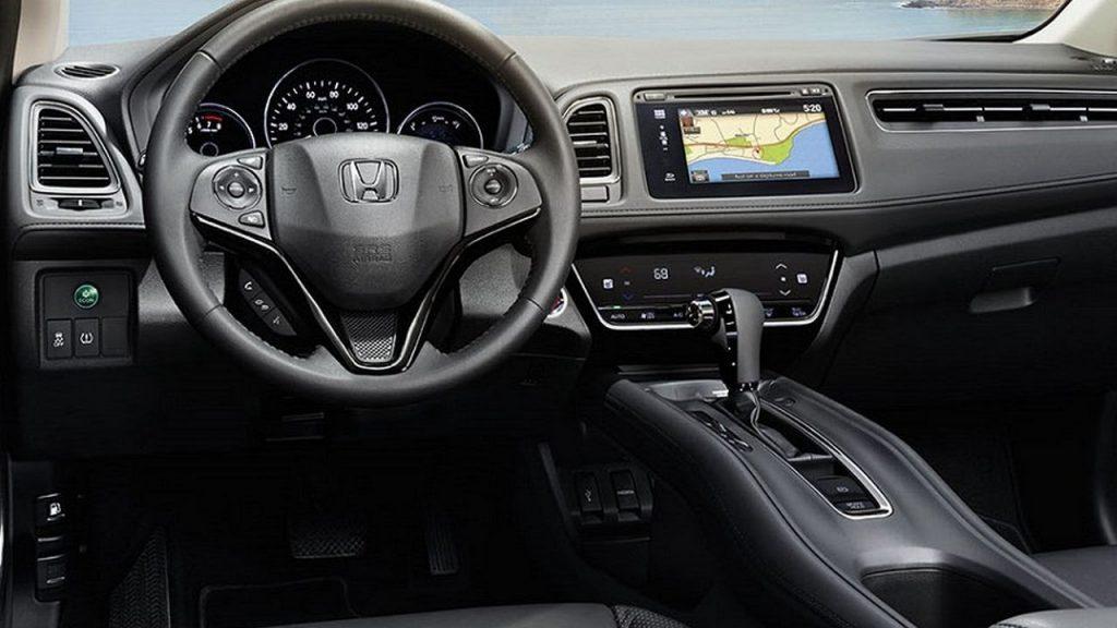 HRV 2019 - Painel, multimídia, volante, câmbio