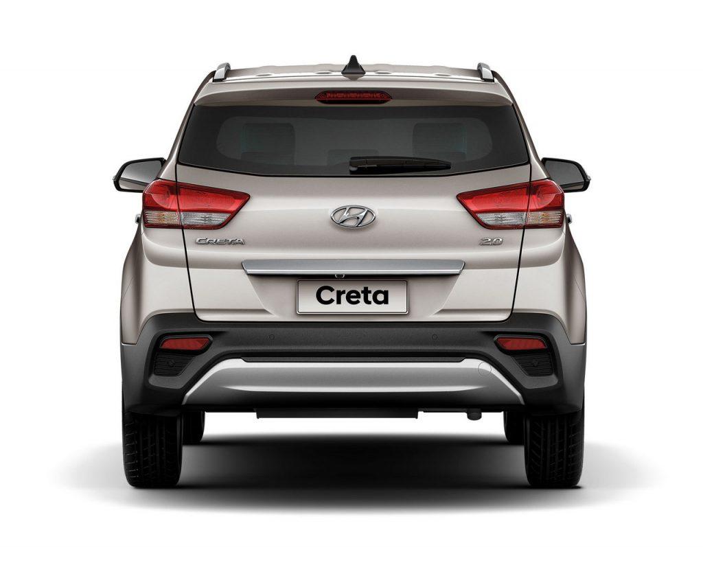 Novo Hyundai Creta 2019 - traseira