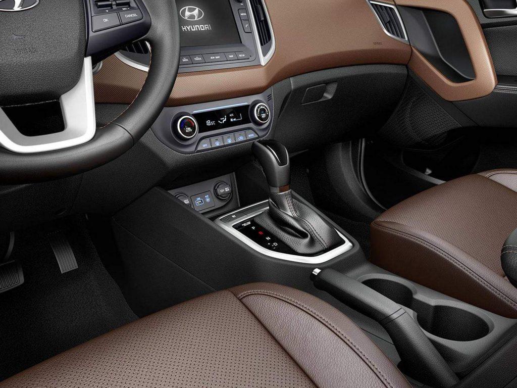 Hyundai Creta 2019 - espaço interno, itens de série