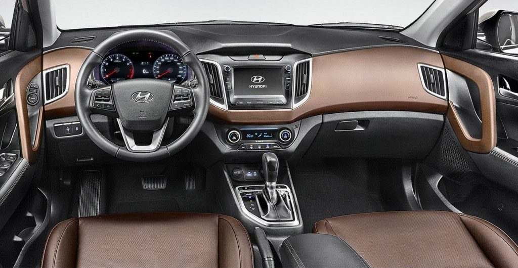 Hyundai Creta 2019 - Interior, por dentro, Painel
