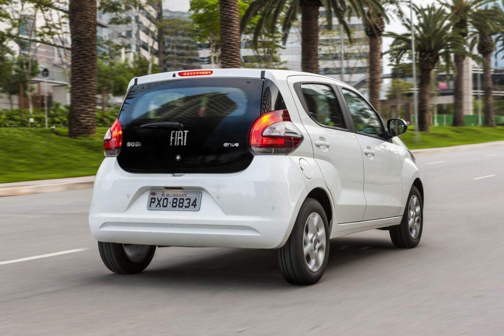 Fiat Mobi 2019 - traseira