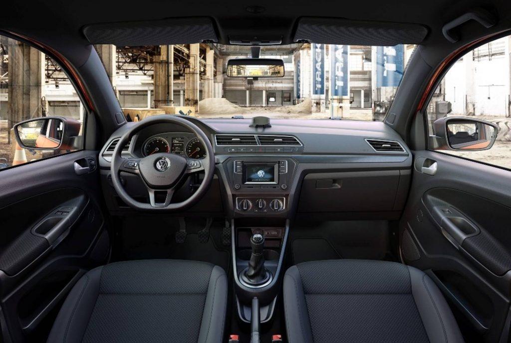 Volkswagen Gol 2019 - Painel, por dentro
