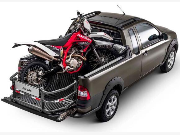 Novo Fiat Strada 2019 - caçamba