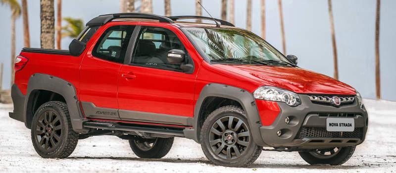 Novo Fiat Strada 2019 - Gasolina, etanol