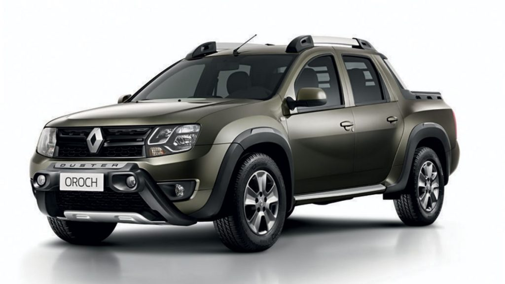 Nova Renault Oroch 2019 - Ficha Técnica