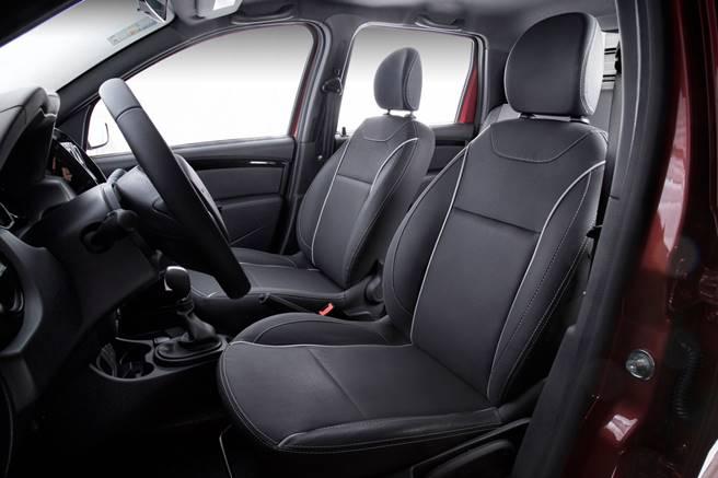Nova Renault Oroch 2019 - interior e por dentro