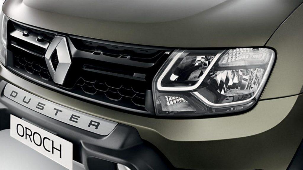 Nova Renault Oroch 2019 - grade frontal