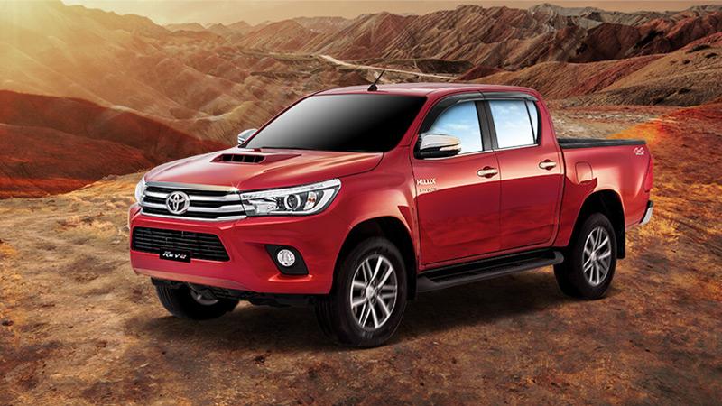 Nova Toyota Hilux 2019 - Ficha Técnica