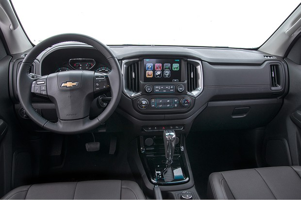 Chevrolet S10 2019 - Interior, por dentro