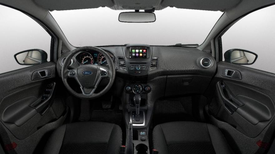 Ford Fiesta 2019 - por dentro, interior, painel
