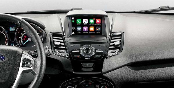 Ford Fiesta 2019 - console, volante