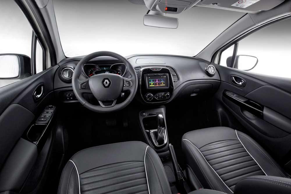 Novo Renault Captur 2019 - Interior, por dentro