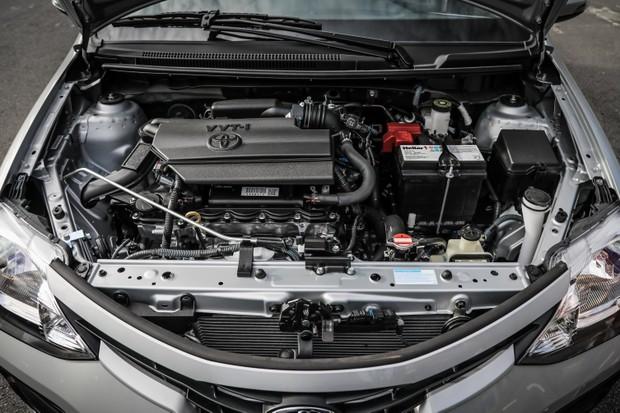 Novo Etios 2019 - motor