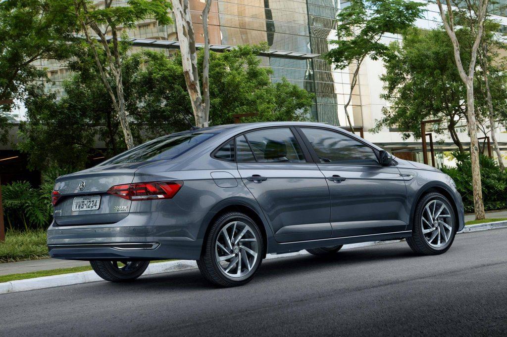 Volkswagen Virtus 2019 - Traseira, porta malas, por trás