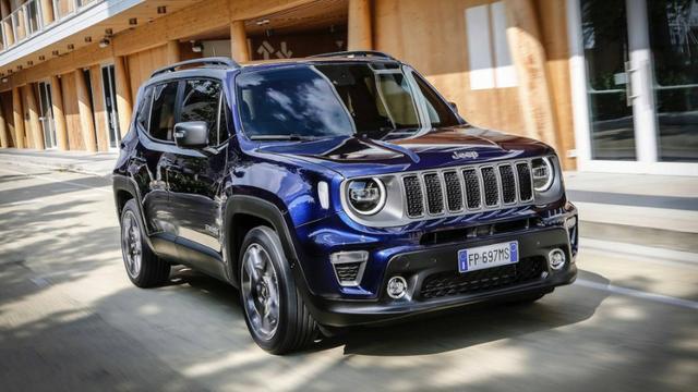 Novo Jeep Renegade 2020 - Frente