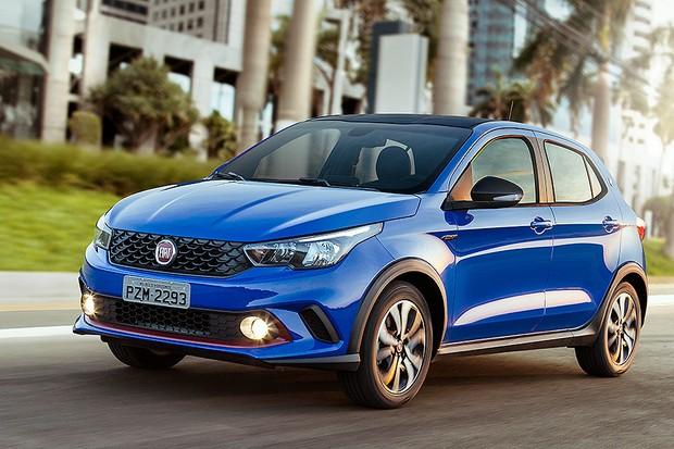 Novo Fiat Argo 2020 - Frente