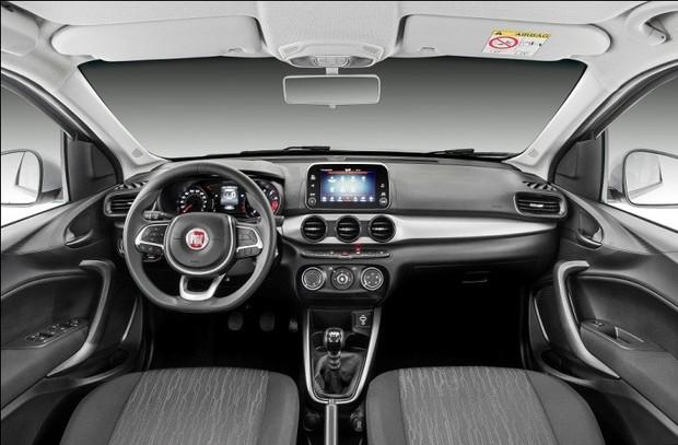 Novo Fiat Argo 2020 - Interior, por dentro