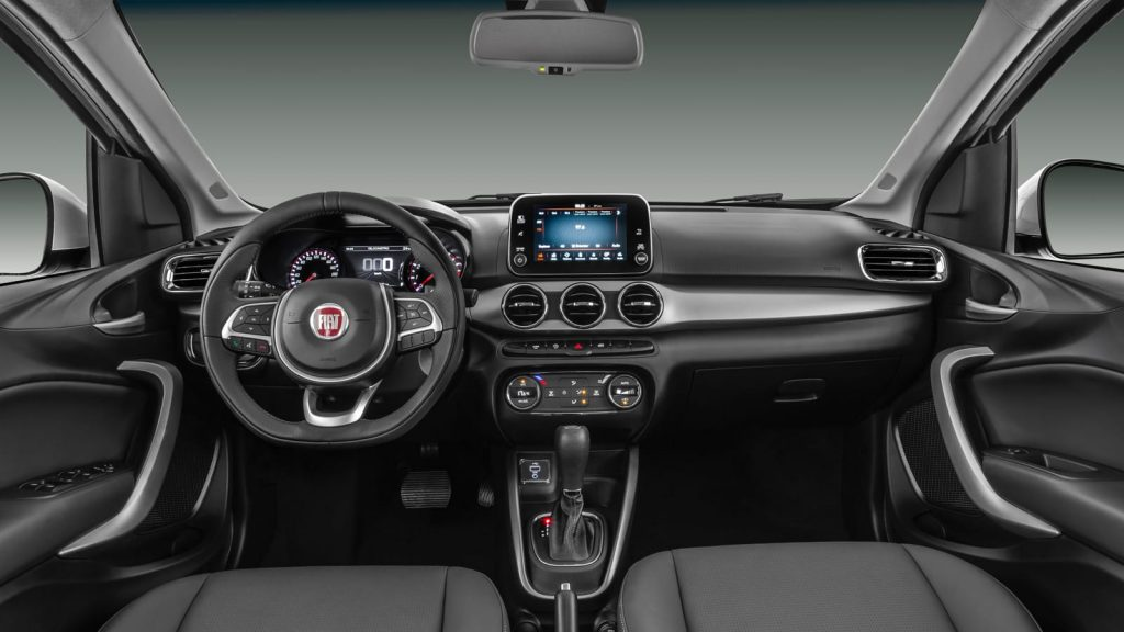 Novo Fiat Argo 2020 - Painel