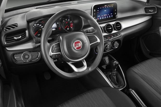 Novo Fiat Argo 2020 - Volante
