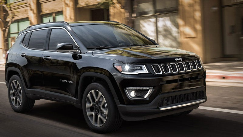 Novo Jeep Compass 2020 - Parte Frontal