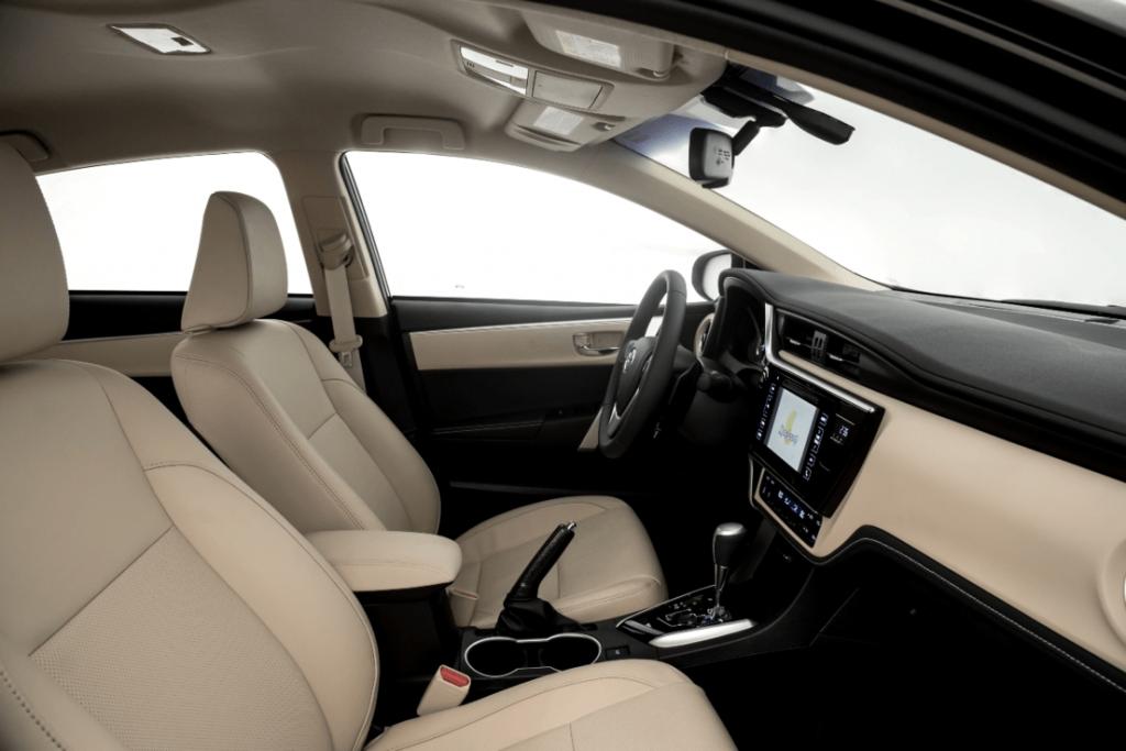 Novo Toyota Corolla 2020 - por dentro