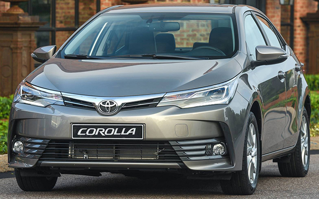 Novo Toyota Corolla 2020 - FRente, parte frontal
