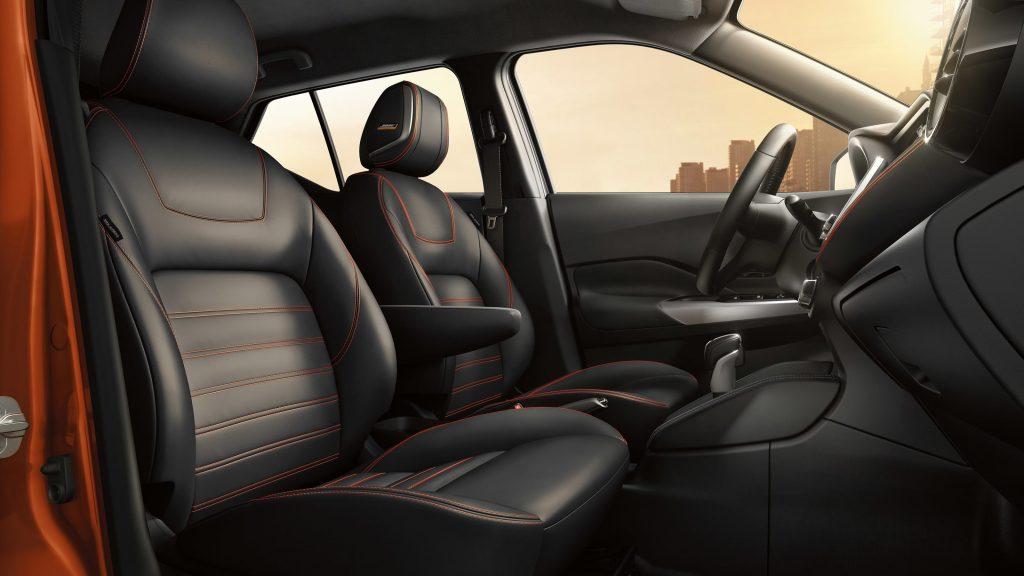 Novo Nissan Kicks 2020 - Bancos de couro