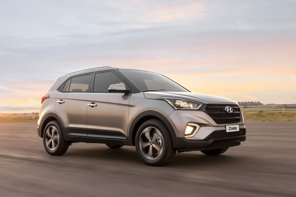 Novo Hyundai Creta 2020 - Frente