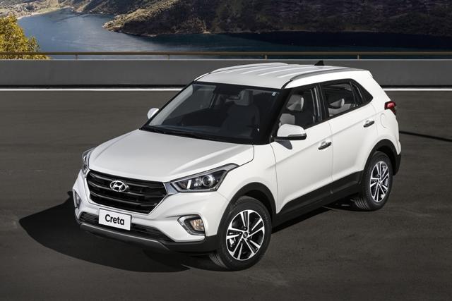 Hyundai Creta 2020 - por fora