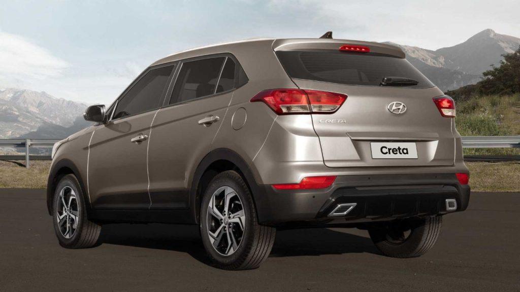 Novo Hyundai Creta 2020 - Traseira